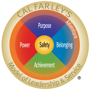 Cal Farley's Model of Leadership & Service emblem