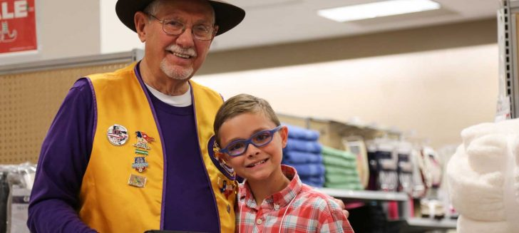 Area Lions provide clothing for Cal Farley's youth