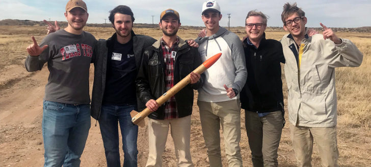 Cal Farley's hosts Texas Tech rocketry team