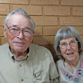 Mr. and Mrs. Embry: Tour Visit Motivates Support for Boys Ranch