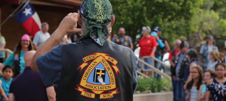Christian Motorcycle Association visits Boys Ranch