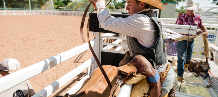 Cal Farley's youth participate in rough-stock clinic