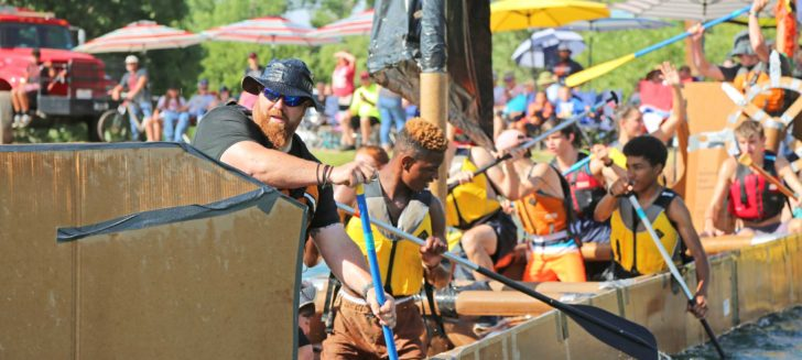 Cal Farley's 11th annual cardboard boat races