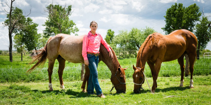 Alex remains focused on rodeo excellence
