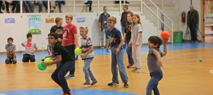 Boys Ranch fire department hosts second annual dodgeball game