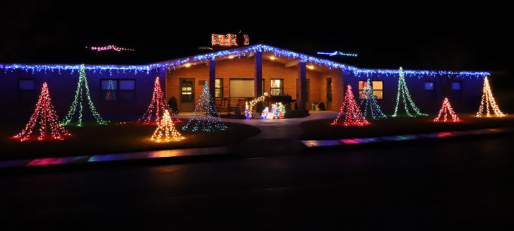 UPDATE: Alumni, public view Boys Ranch homes' Christmas decor