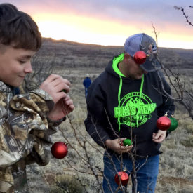 Home's 'Cowboy Christmas' ride gives boys solace, strength