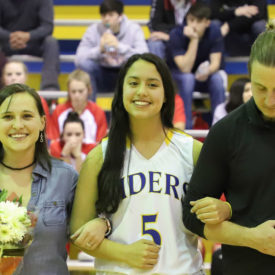 Senior players recognized at special ceremony