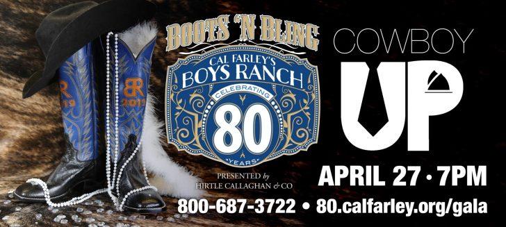 Boys Ranch to hold anniversary gala Saturday