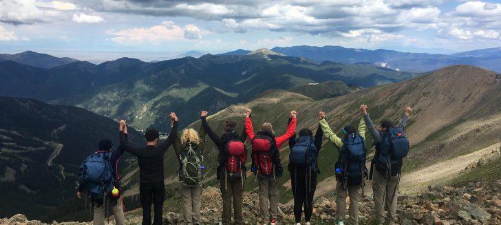 First all-female group summits Wheeler Peak