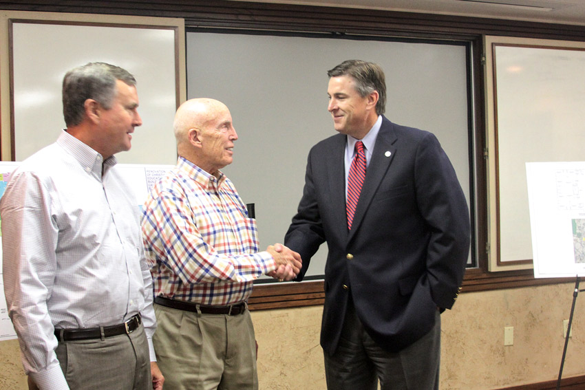 Picture of Rodney with Boys Ranch board members