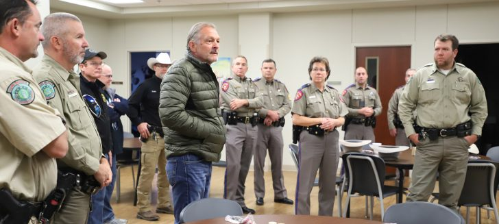 Law enforcement agencies hold meet-and-greet at Boys Ranch