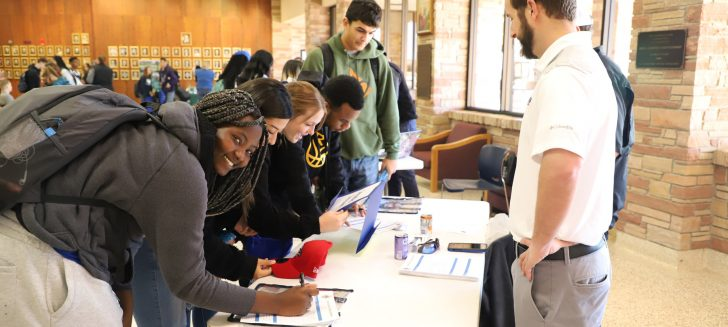Students get a glimpse at future