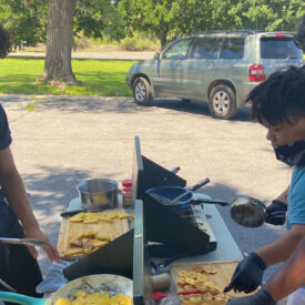 Outdoor cooking classes a hit at Boys Ranch