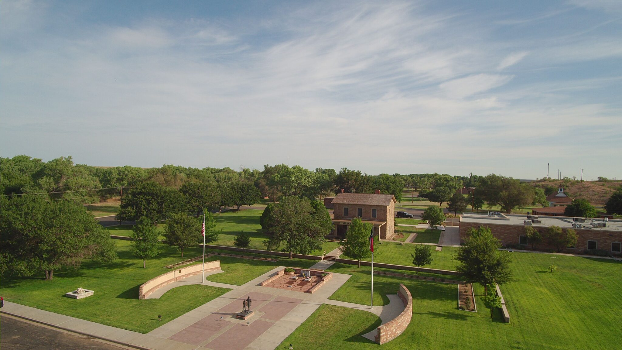 Tascosa Court House