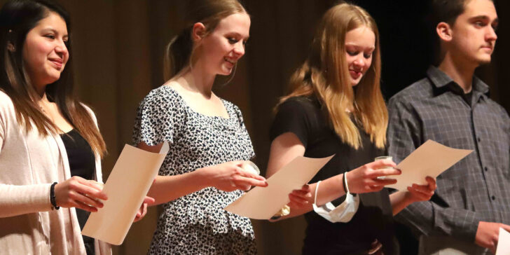 10 Students Inducted Into National Honor Society
